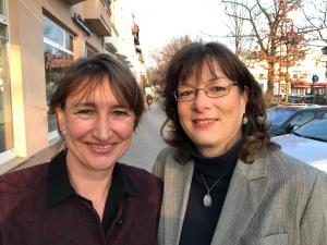 Beate und Martina, Bürgermeisterwahl 2017